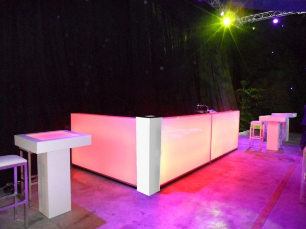 led bar set huren